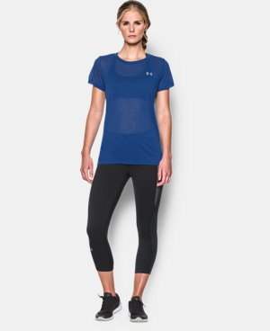 Women's UA Tech™ Slub T-Shirt LIMITED TIME: FREE U.S. SHIPPING 1 Color $15.74