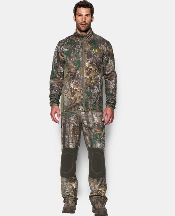 Men's UA Scent Control Camo Jacket LIMITED TIME: FREE SHIPPING 1 Color $80.99