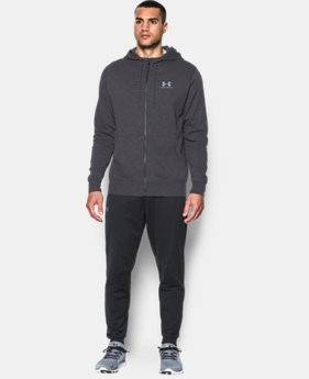New Arrival  Men's UA Sportstyle Fleece Zip Hoodie  1 Color $74.99