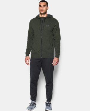 Men's UA Sportstyle Fleece Zip Hoodie LIMITED TIME: FREE U.S. SHIPPING 1 Color $48.99 to $64.99