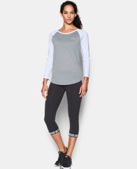 Women's UA Tech™ ¾ Sleeve LIMITED TIME: FREE SHIPPING  $34.99