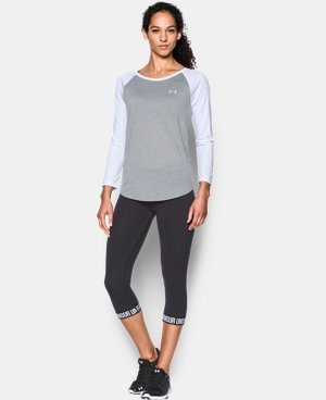 Women's UA Tech™ 3/4 Sleeve LIMITED TIME OFFER + FREE U.S. SHIPPING  $22.49