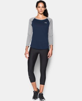 Women's UA Tech™ 3/4 Sleeve LIMITED TIME OFFER + FREE U.S. SHIPPING 1 Color $22.49