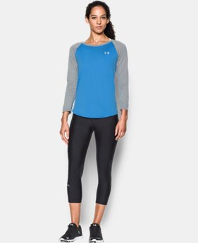 Women's UA Tech™ ¾ Sleeve LIMITED TIME: FREE SHIPPING 3 Colors $29.99