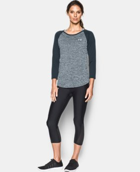 Women's UA Tech™ ¾ Sleeve - Twist LIMITED TIME: FREE SHIPPING  $34.99