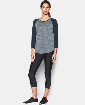 Women's UA Tech™ ¾ Sleeve - Twist  1 Color $29.99