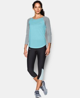 Women's UA Tech™ ¾ Sleeve - Twist