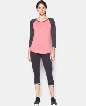 Women's UA Tech™ ¾ Sleeve - Twist LIMITED TIME: FREE SHIPPING 1 Color $29.99