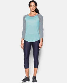 Women's UA Tech™ 3/4 Sleeve - Twist LIMITED TIME OFFER 4 Colors $20.99