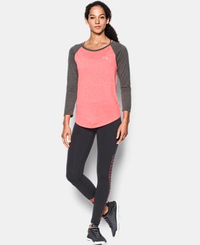 Women's UA Tech™ 3/4 Sleeve - Twist  1 Color $34.99