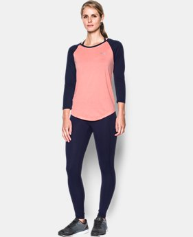 Women's UA Tech™ 3/4 Sleeve - Twist LIMITED TIME OFFER 2 Colors $20.99