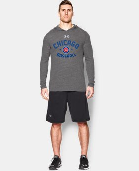 New Arrival  Men's Chicago Cubs UA Tri-Blend Hoodie LIMITED TIME: FREE SHIPPING 1 Color $59.99