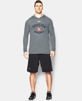 Men's Houston Astros UA Tri-Blend Hoodie EXTRA 25% OFF ALREADY INCLUDED 1 Color $28.49