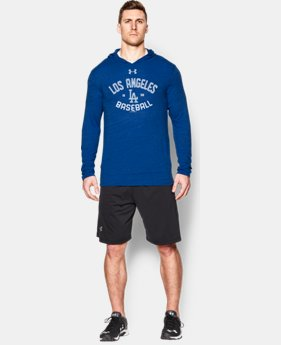 Men's Los Angeles Dodgers UA Tri-Blend Hoodie