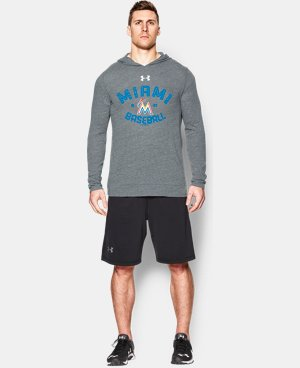 Men's Miami Marlins UA Tri-Blend Hoodie LIMITED TIME: FREE U.S. SHIPPING 1 Color $28.49
