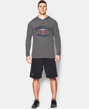 Men's Minnesota Twins UA Tri-Blend Hoodie LIMITED TIME: FREE U.S. SHIPPING 1 Color $37.99