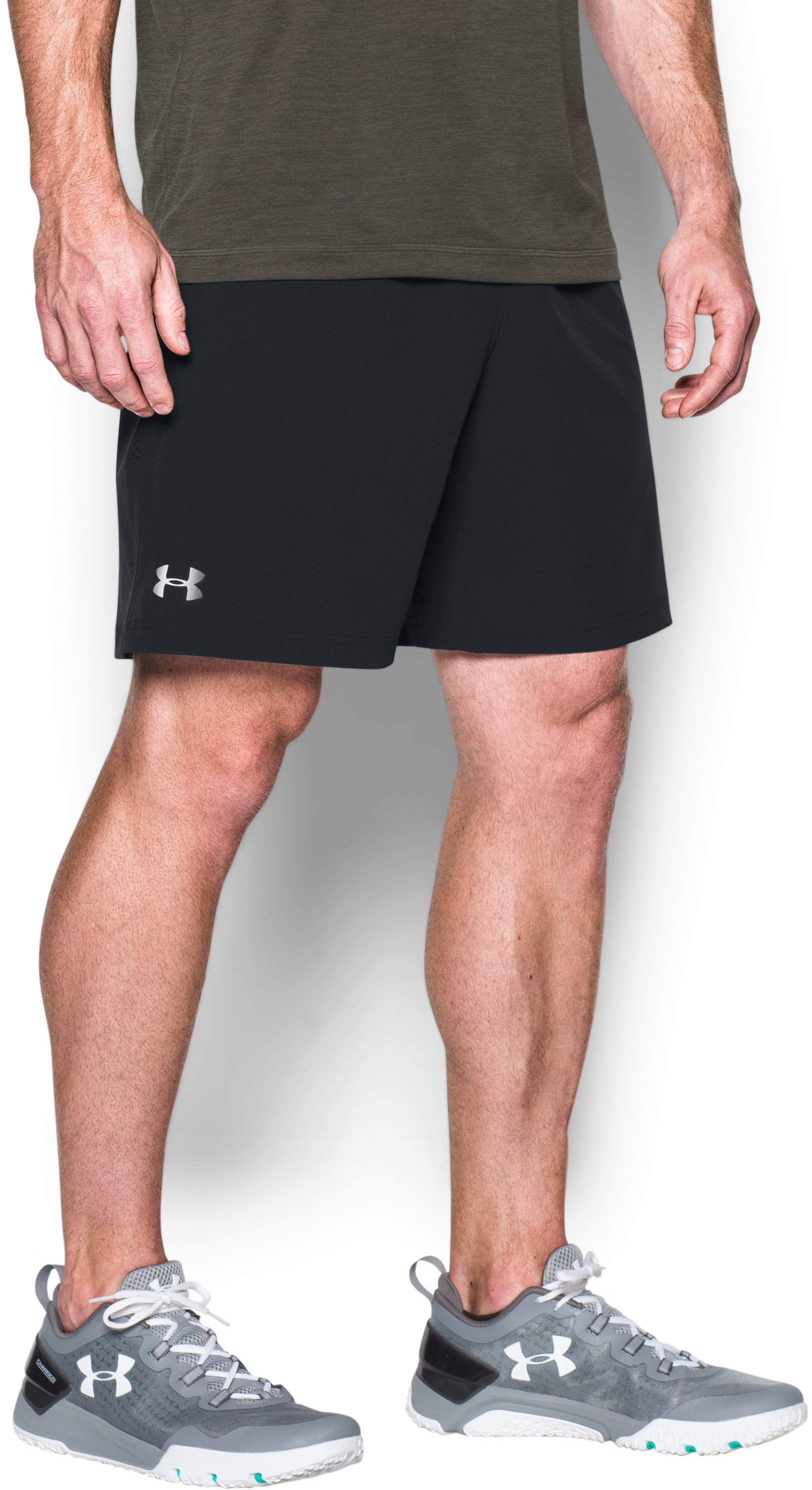 Men's UA Storm Vortex Shorts, Black ,