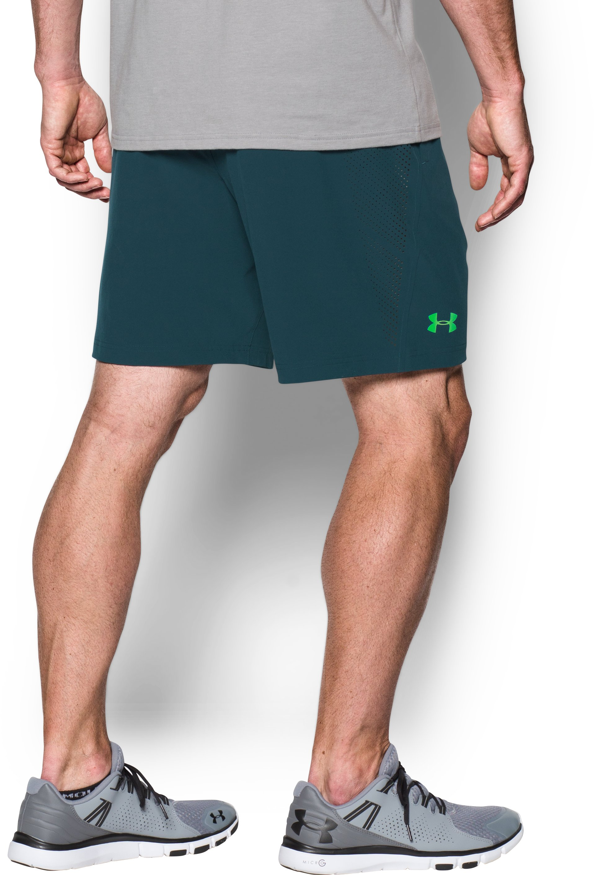 Men's UA Storm Vortex Shorts, NOVA TEAL, undefined