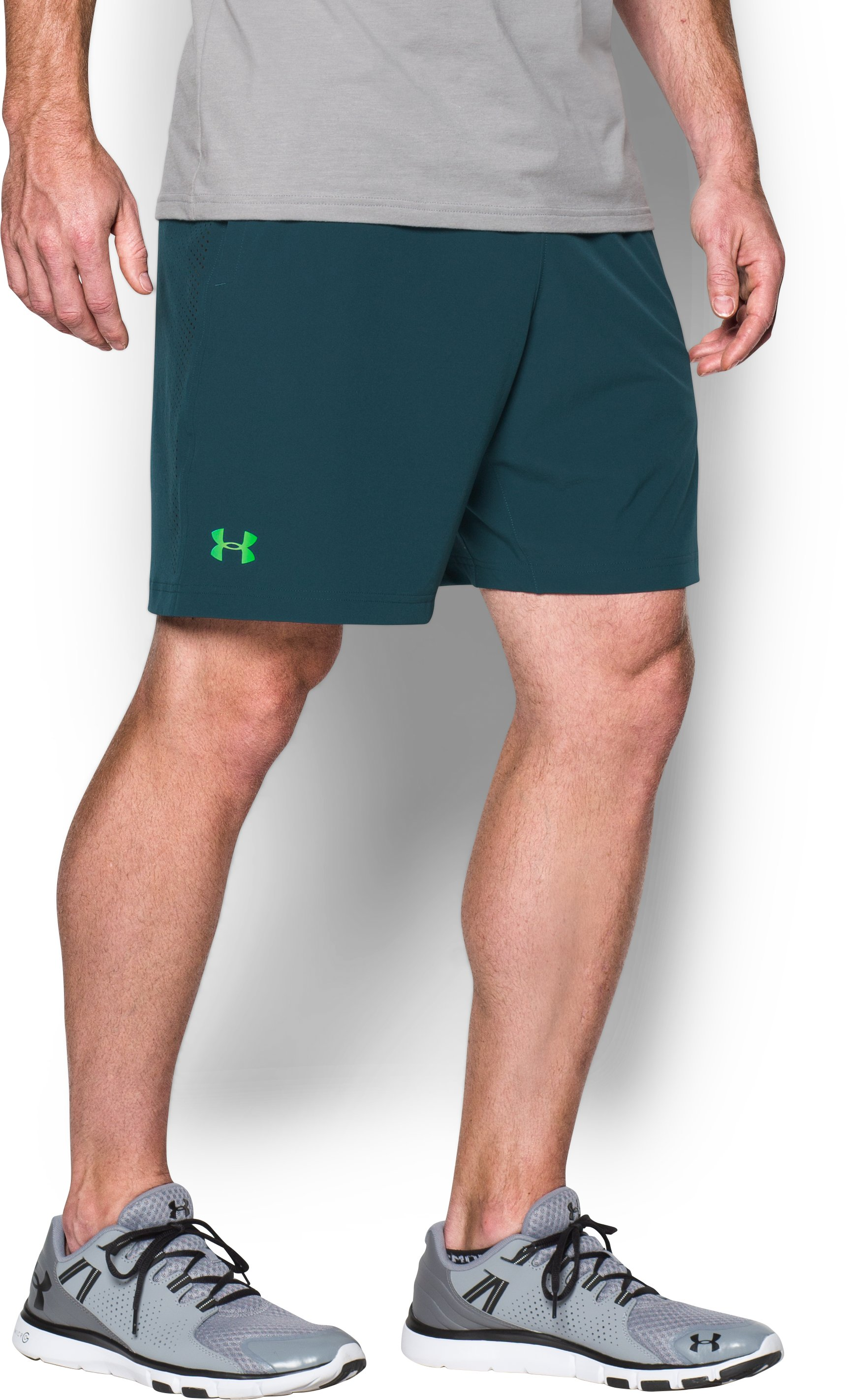 Men's UA Storm Vortex Shorts, NOVA TEAL