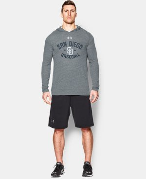Men's San Diego Padres UA Tri-Blend Hoodie  1 Color $28.49