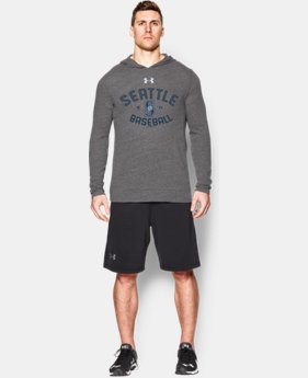 New Arrival  Men's Seattle Mariners UA Tri-Blend Hoodie  1 Color $59.99