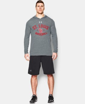 New Arrival  Men's St. Louis Cardinals UA Tri-Blend Hoodie  1 Color $59.99