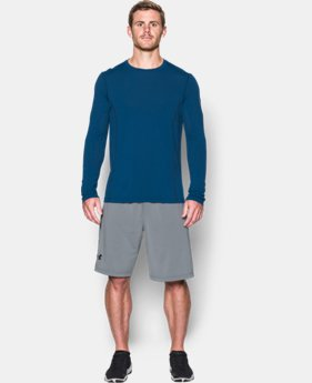 New Arrival  Men's UA Elevated Training Long Sleeve LIMITED TIME: FREE SHIPPING 3 Colors $84.99