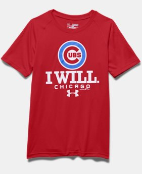 Boys' Chicago Cubs I Will UA Tech™ T-Shirt