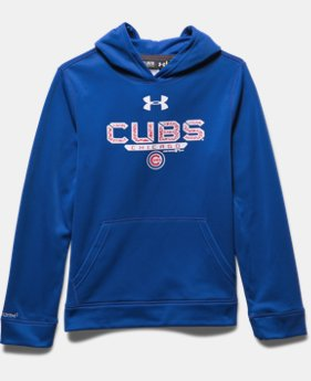 Boys' Chicago Cubs UA Storm Armour® Fleece Hoodie