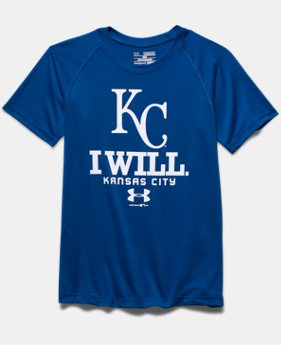 Boys' Kansas City Royals I Will UA Tech™ T-Shirt