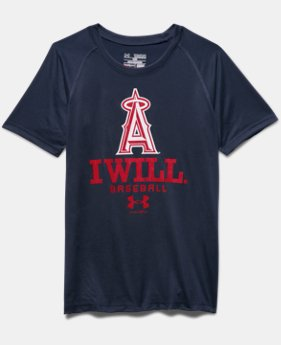 Boys' Los Angeles Angels I Will UA Tech™ T-Shirt