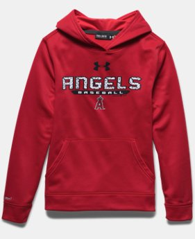 Boys' Los Angeles Angels UA Storm Armour® Fleece Hoodie