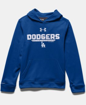Boys' Los Angeles Dodgers  UA Storm Armour® Fleece Hoodie
