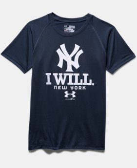 Boys' New York Yankees I Will UA Tech™ T-Shirt