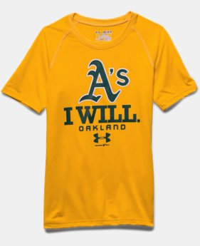 Boys' Oakland Athletics I Will UA Tech™ T-Shirt
