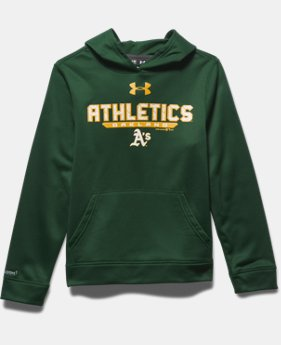 Boys' Oakland Athletics UA Storm Armour® Fleece Hoodie