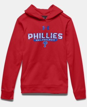 Boys' Philadelphia Phillies UA Storm Armour® Fleece Hoodie