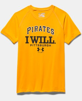 Boys' Pittsburgh Pirates I Will UA Tech™ T-Shirt