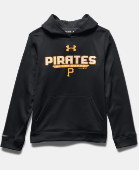 Boys' Pittsburgh Pirates UA Storm Armour® Fleece Hoodie