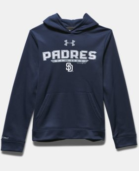 Boys' San Diego Padres UA Storm Armour® Fleece Hoodie