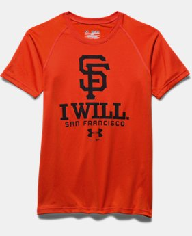 Boys' San Francisco Giants I Will UA Tech™ T-Shirt