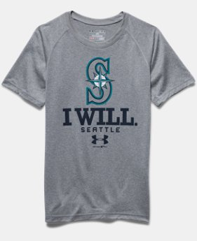 Boys' Seattle Mariners I Will UA Tech™ T-Shirt