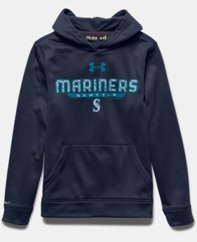 Boys' Seattle Mariners UA Storm Armour® Fleece Hoodie