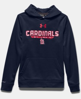 Boys' St. Louis Cardinals UA Storm Armour® Fleece Hoodie
