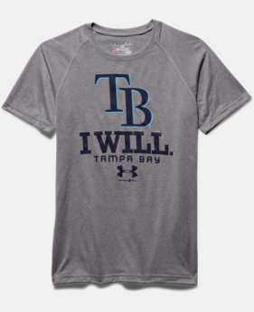Boys' Tampa Bay Rays I Will UA Tech™ T-Shirt