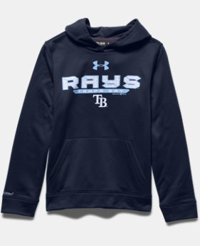 Boys' Tampa Bay Rays UA Storm Armour® Fleece Hoodie