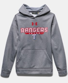 Boys' Texas Rangers UA Storm Armour® Fleece Hoodie