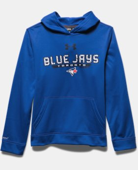 Boys' Toronto Blue Jays UA Storm Armour® Fleece Hoodie