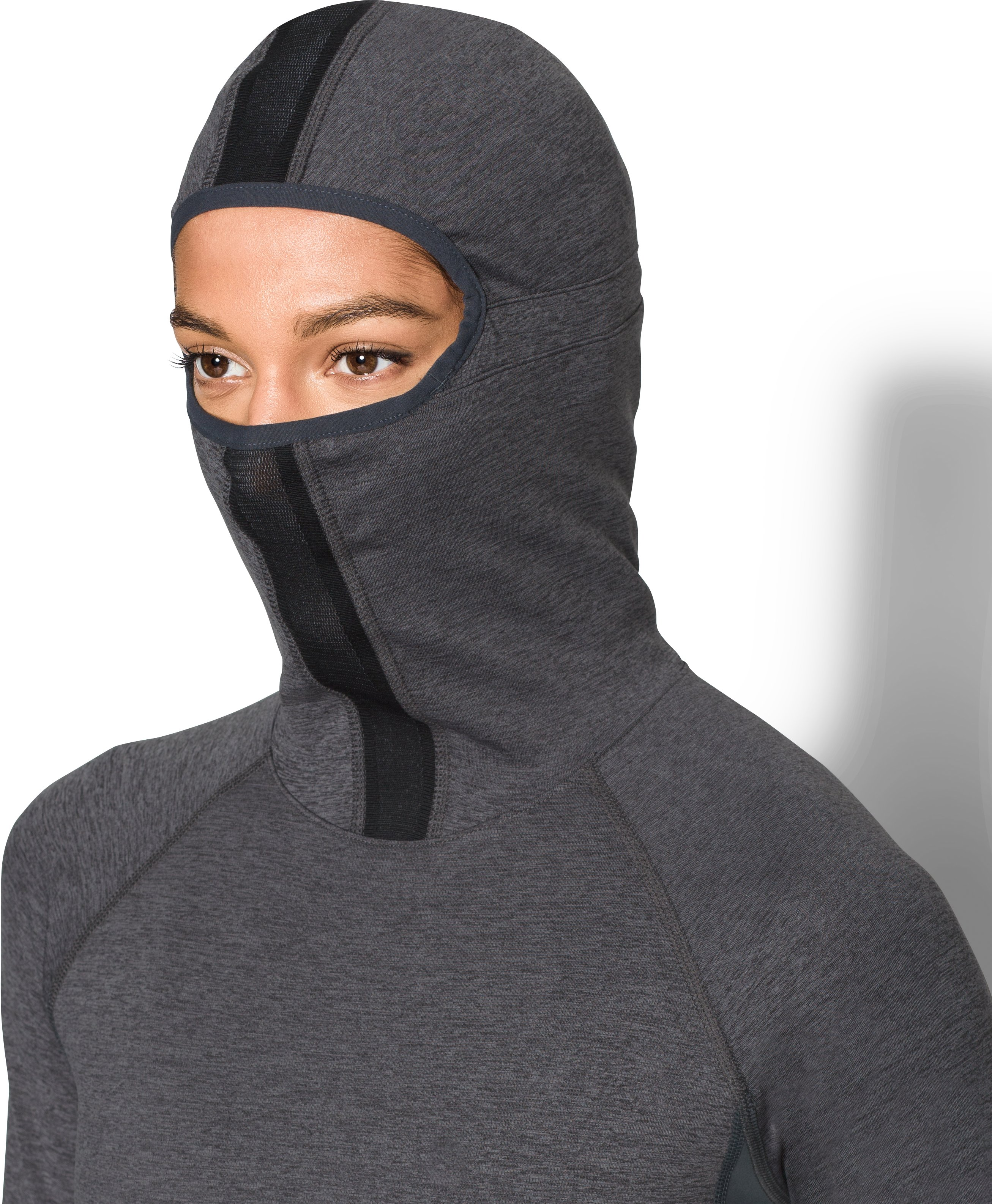 Women's UA Balaclava, Carbon Heather,