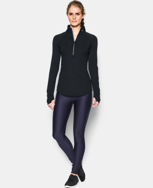 Women's UA Threadborne Run True 1/2 Zip  1 Color $64.99